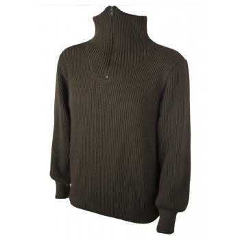 Στρατιωτικό πουλόβερ με φερμουάρ