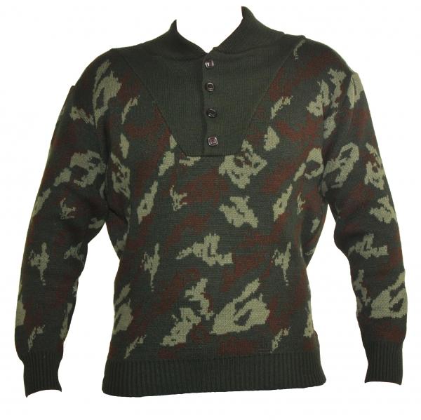 Στρατιωτική μπλούζα πουλόβερ παραλλαγής χακί